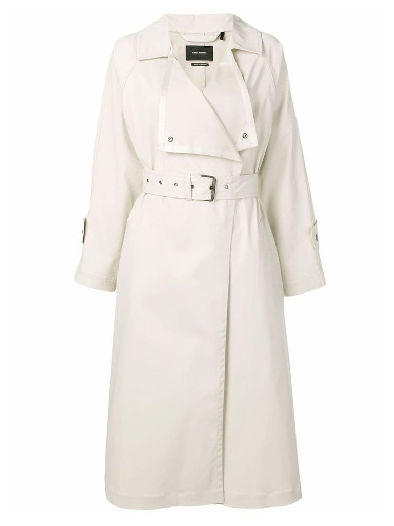 Isabel Marant Jamet trench coat - Neutrals