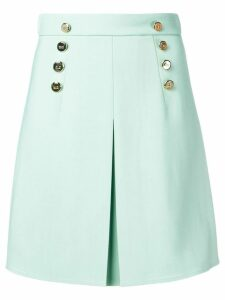 Elisabetta Franchi button skirt - Green