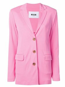 MSGM single-breasted blazer - Pink