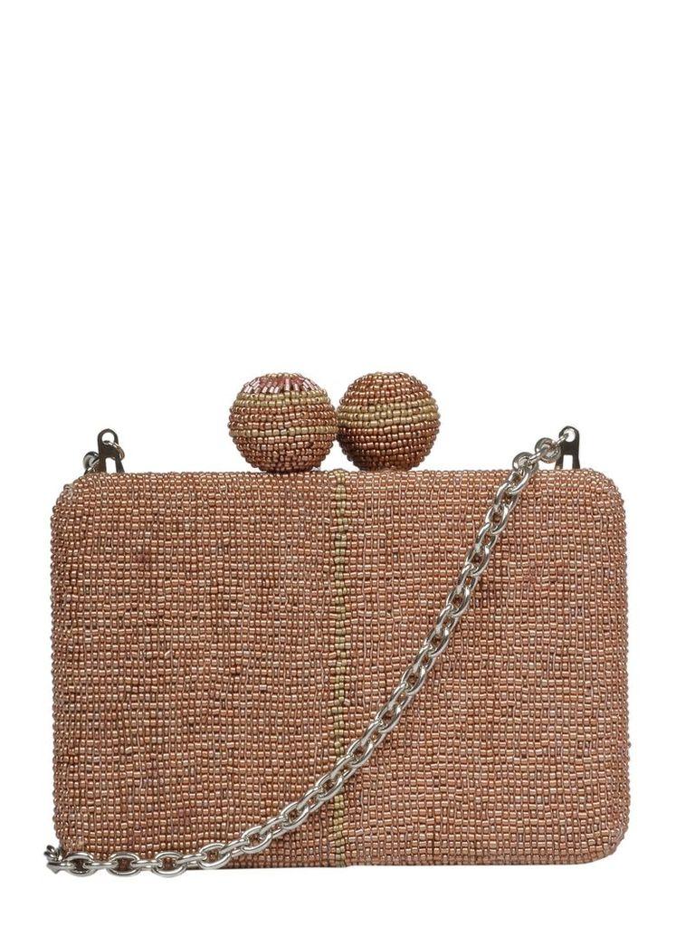 Maliparmi Beaded Shoulder Bag