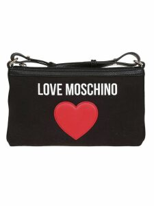 Love Moschino Patch Shoulder Bag