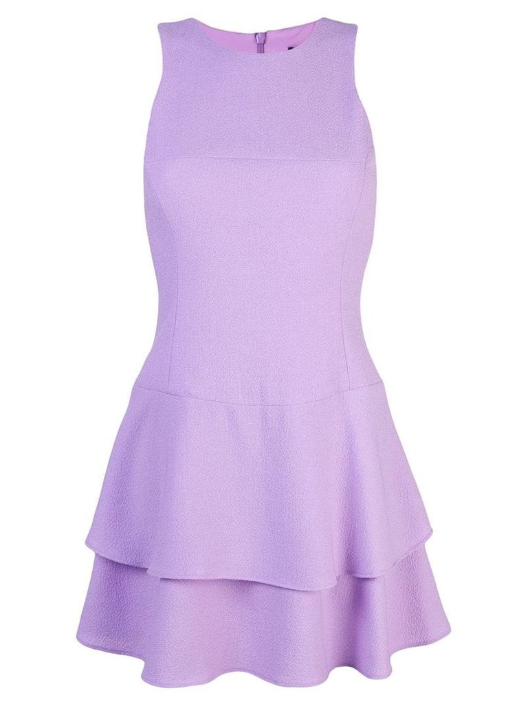 Black Halo Cheryl mini dress - Purple