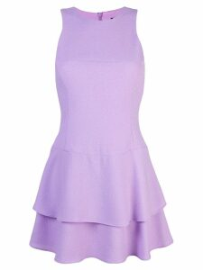 Black Halo Cheryl mini dress - Purple