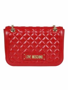 Love Moschino Quilted Shoulder Bag