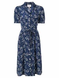 HVN Maria shirt dress - Blue