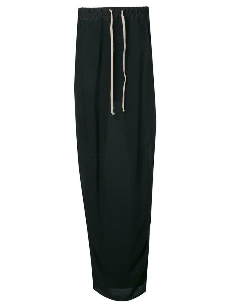Rick Owens drawstring skirt - Black