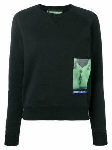 Dsquared2 small graphic logo print sweatshirt - Black