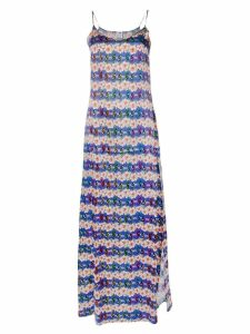 Ultràchic printed shift dress - Blue