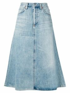 Citizens Of Humanity denim A-line skirt - Blue