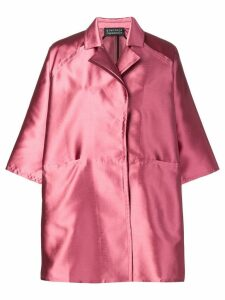 Gianluca Capannolo oversized shirt dress - Pink