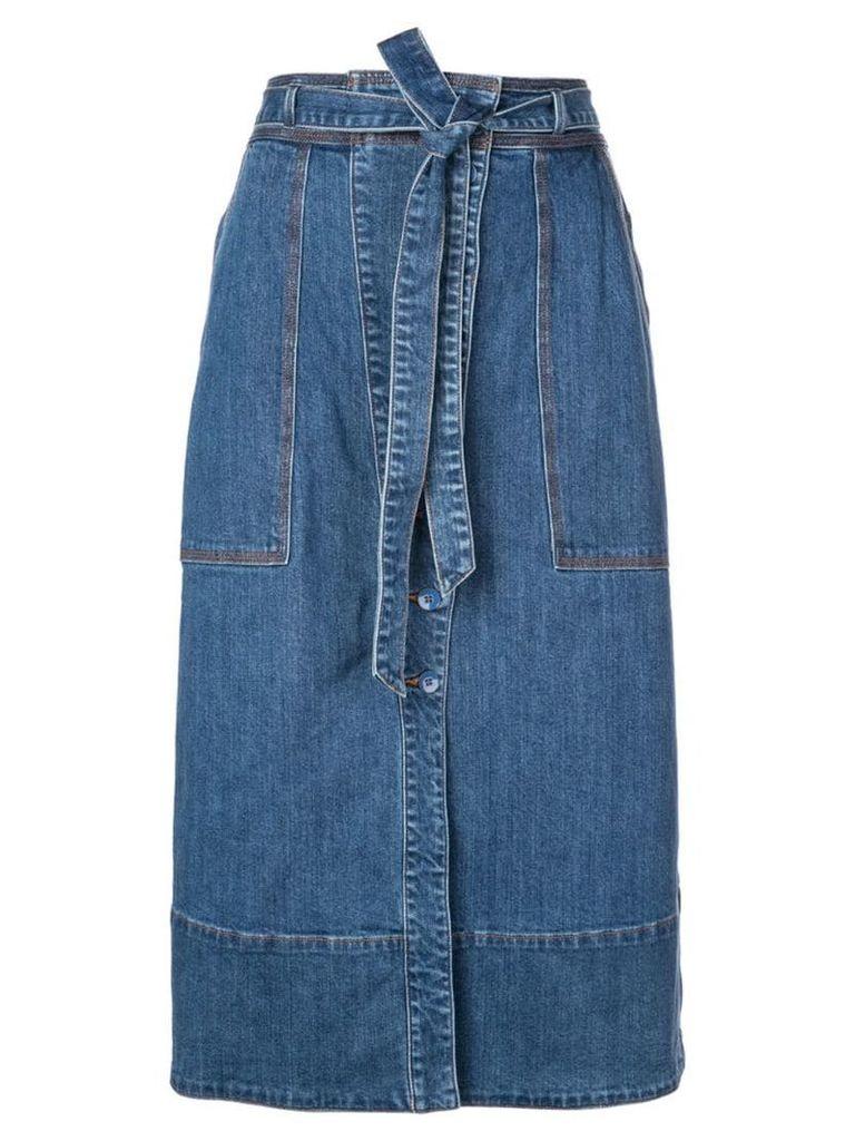 Ulla Johnson Tegan denim skirt - Blue