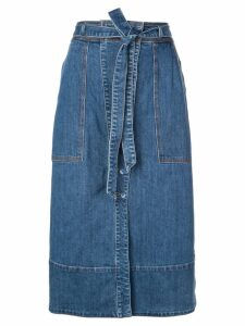 Ulla Johnson Tegan denim skirt - Blue