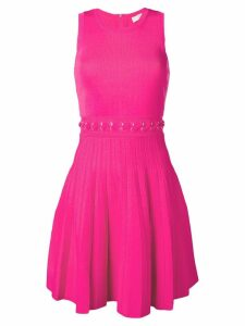Michael Michael Kors lace-up waist midi dress - Electric Pink