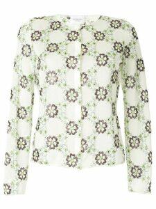 Giambattista Valli floral embroidered cardigan - Multicolour