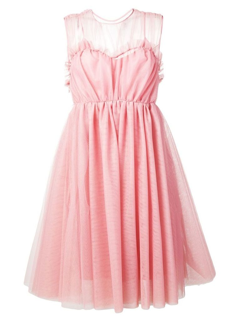 MSGM tulle babydoll dress - Pink