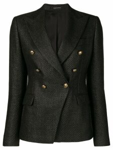 Tagliatore tailored blazer - Black