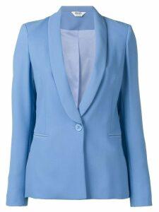 Liu Jo one-button fitted blazer - Blue
