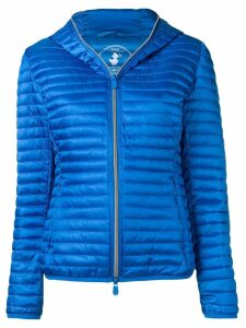 Save The Duck hooded padded jacket - Blue