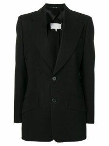 Maison Margiela classic fitted blazer - Black