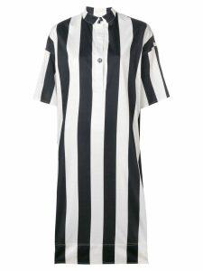 Fay striped day dress - Blue