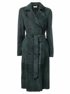 Desa 1972 double-breasted belted coat - Black