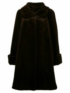 Liska oversized coat - Brown