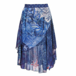 Desigual  NALA  women's Skirt in Blue