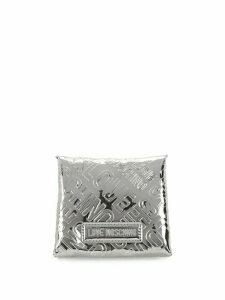 Metallic Logo Embossed Card Holder
