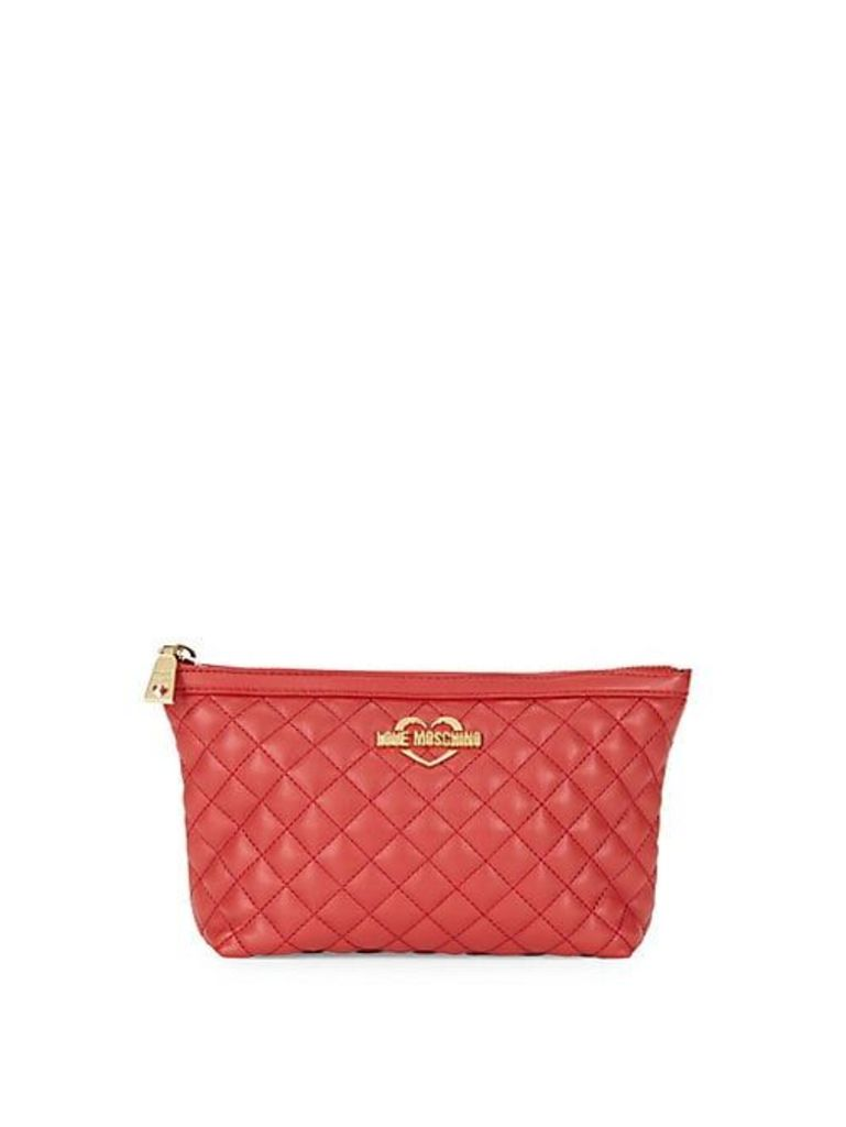 Super Quilted Zip Travel Pouch