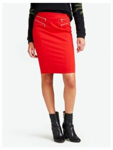 Guess Tube Skirt With Zip Details