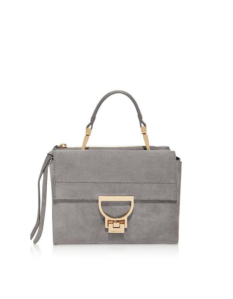 Coccinelle Designer Handbags, Arlettis Suede Mini Bag w/Shoulder Strap