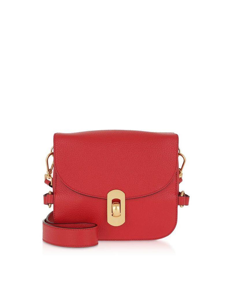 Coccinelle Designer Handbags, Zaniah Mini Leather Shoulder Bag