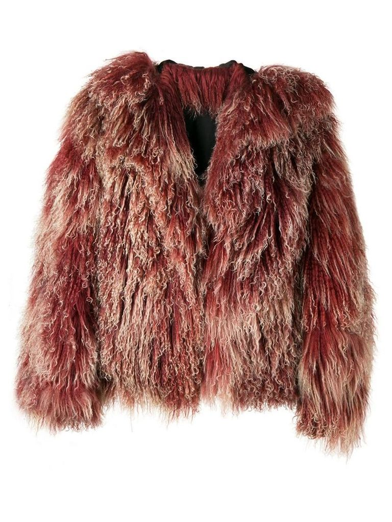 A.N.G.E.L.O. Vintage Cult 1970's fluffy coat - Pink