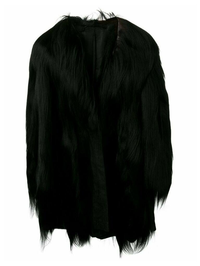 A.N.G.E.L.O. Vintage Cult 1960's fur coat - Black