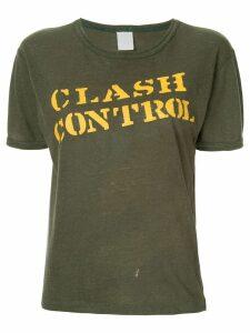 Fake Alpha Vintage The Clash T-shirt - Green