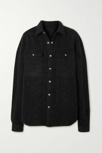 Balenciaga - Fluted Denim Skirt - Blue