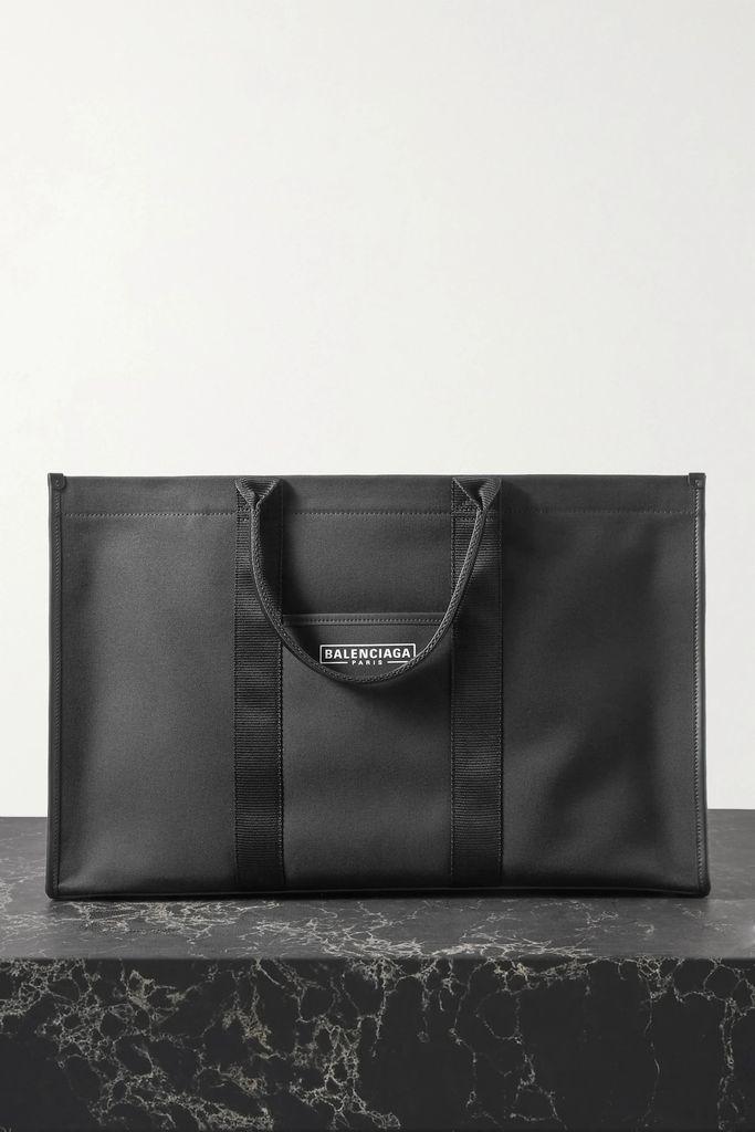 Alessandra Rich - Pleated Polka-dot Silk-georgette Midi Skirt - Navy