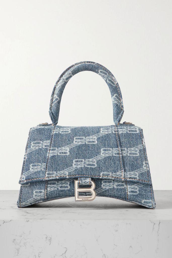 Mes Demoiselles - Bonnie Printed Crepon Blouse - Blue