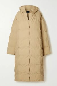 Prada - Floral-print Pleated Crepe De Chine Skirt - Light green