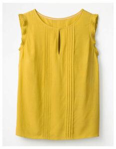 Clara Top Yellow Women Boden, Yellow