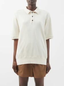 Saloni - Karen Floral Jacquard Silk Midi Dress - Womens - Blue Multi