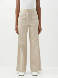 Saloni - Eve Floral Jacquard Silk Mini Dress - Womens - Orange Multi
