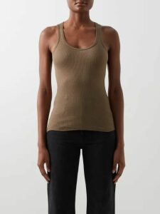 Saloni - Daria Silk Georgette Dress - Womens - Green