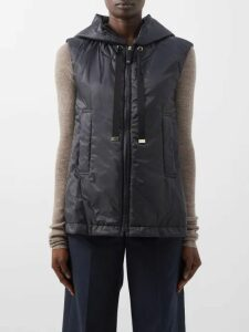 Saloni - Raquel Checked Silk Crepe De Chine Midi Dress - Womens - Pink Multi