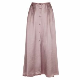 Forte forte Dusty Pink Satin Skirt