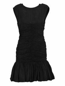 Msgm Msgm Draped Effect Dress