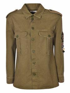 Saint Laurent Embellished Military Shirt