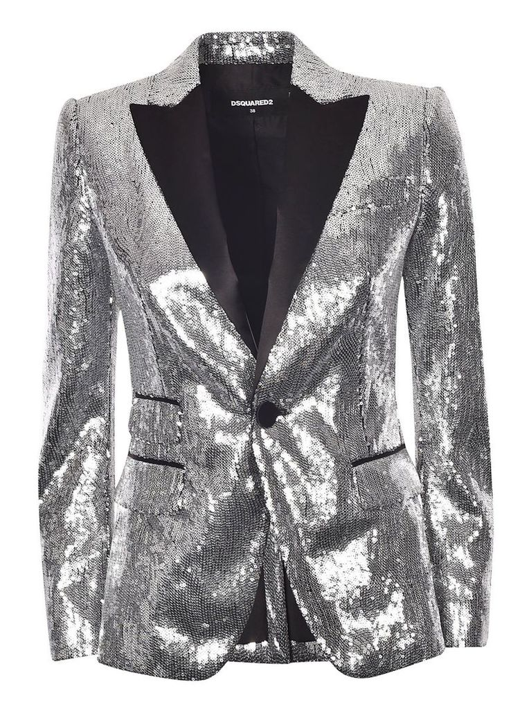 Dsquared2 Sequin Embellished Blazer