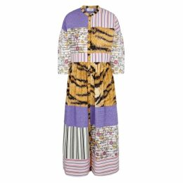 Hofmann Riva Patchwork Midi Dress