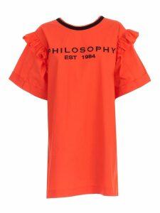 Philosophy di Lorenzo Serafini Logo Embroidered Mini Dress